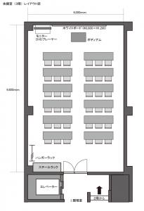 会議室レイアウト図