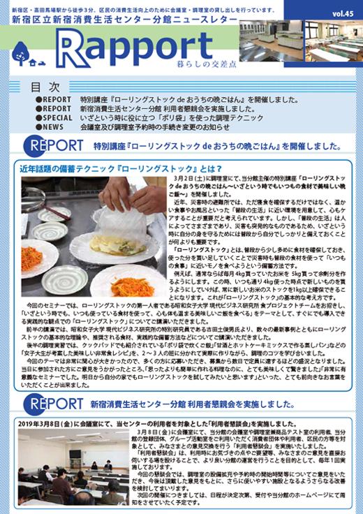 Rapport Vol.45